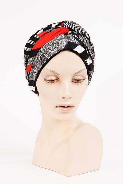 Turban disponible dans notre salon des Arts Capillaires - Paris 8ème
