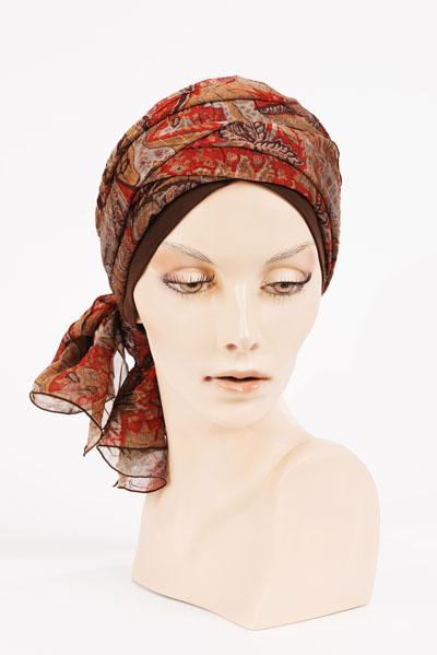 Turban disponible dans notre salon - Paris 8ème