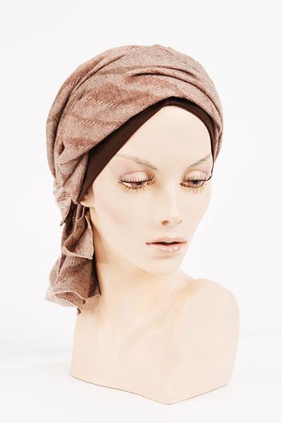 Exemple de turban disponible dans notre salon - Paris 8ème